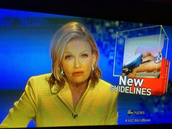 Diane Sawyer on ABC Evening News