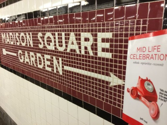 Madison Square Garden and Mid Life Celebration