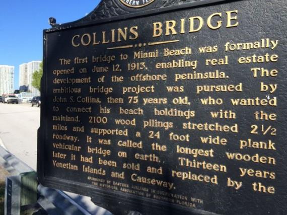 Collins Bridge Miami Beach