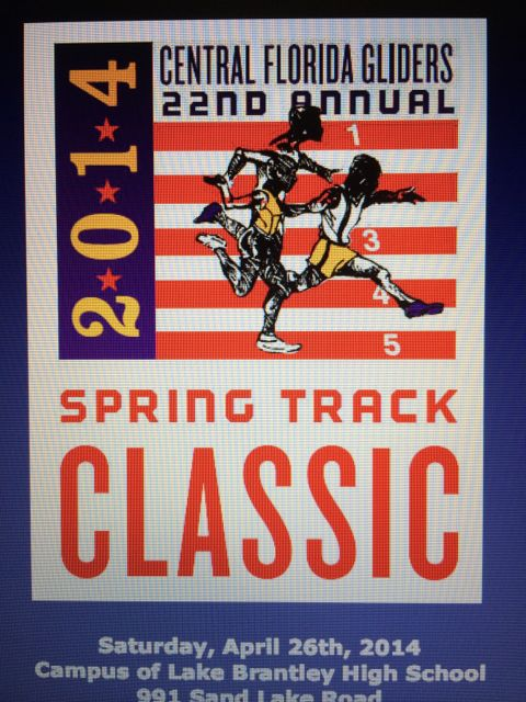 Central Florida Gliders Track Classic flyer