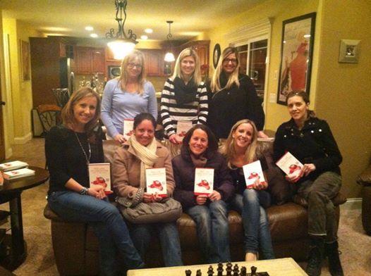 Monica Flanagin Decker's book club's first meeting