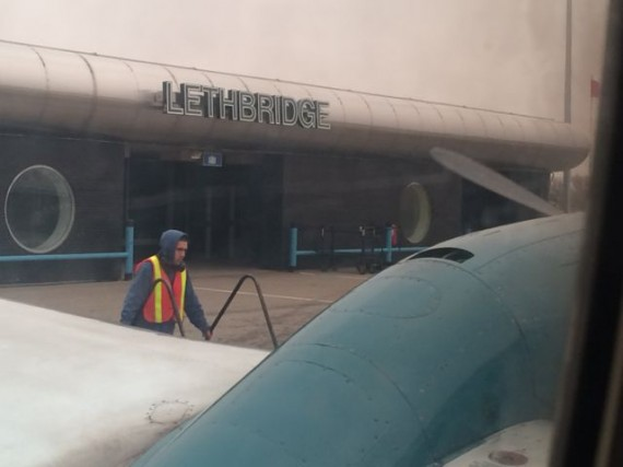 Lethbridge, Alberta, Canada airport