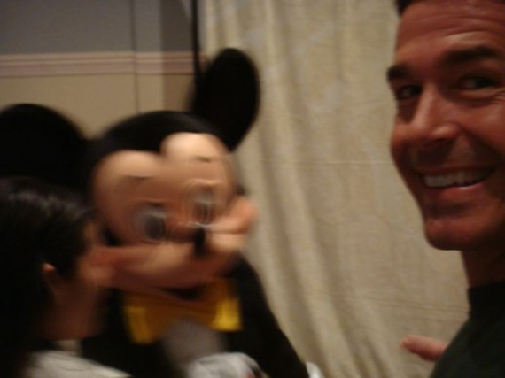 Mickey Mouse and jeff noel