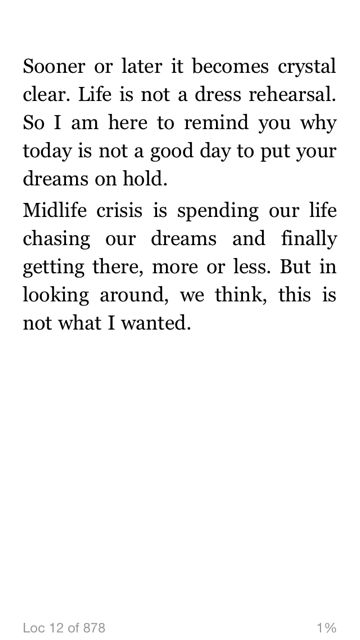 Mid Life Celebration's key mantra