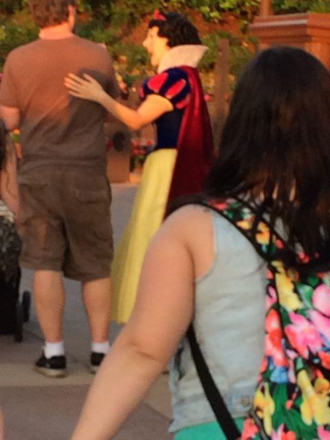 Snow White at Epcot