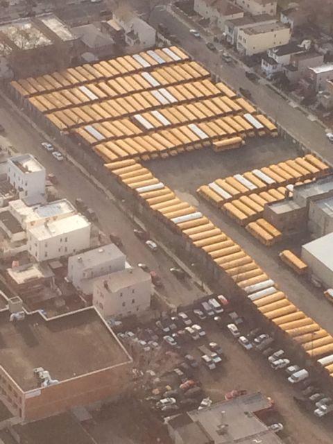 New York City Yellow School Bus HQ