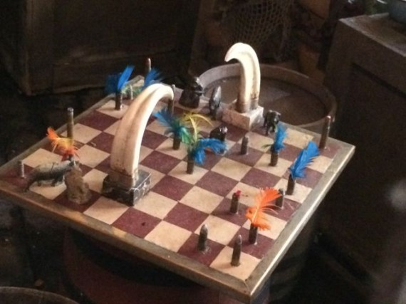 Jungle Cruise que line chess prop