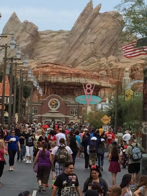 Disney California Adventure Carsland