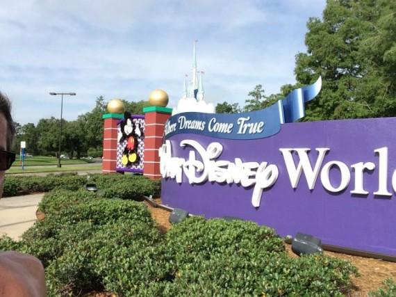 jeff noel jogging at Walt Disney World
