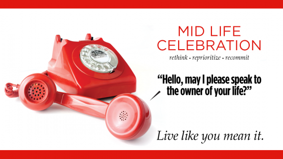 Midlife Celebration tag line and logo