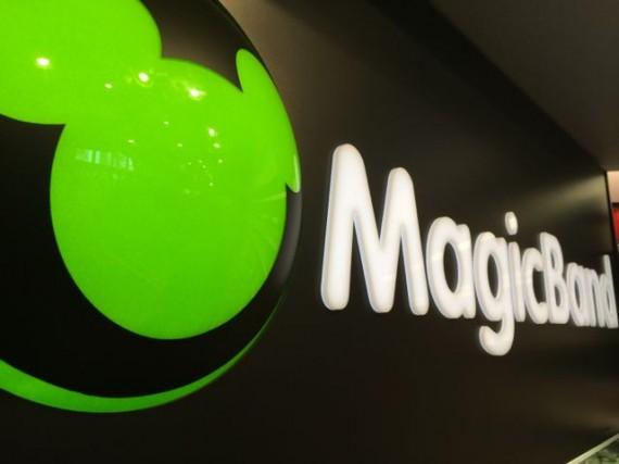 Magicband sign at Epcot