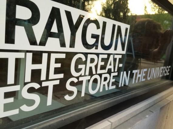 RayGun tee shirt shop Iowa City