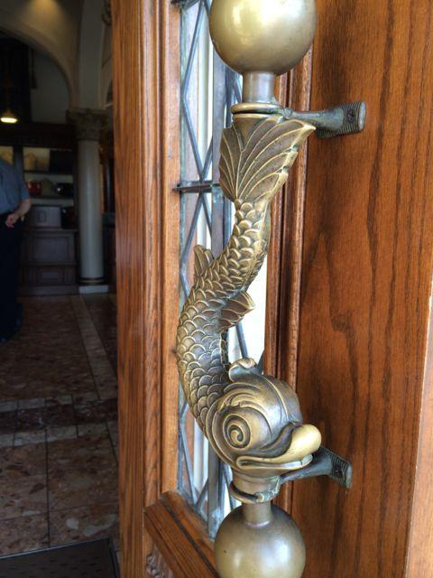 Flying Fish door knob