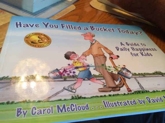 Children's book about filling other's buckets