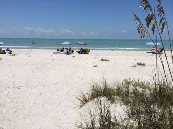 Sanibel Island Beach view