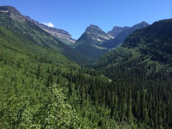 Glacier National Park west side