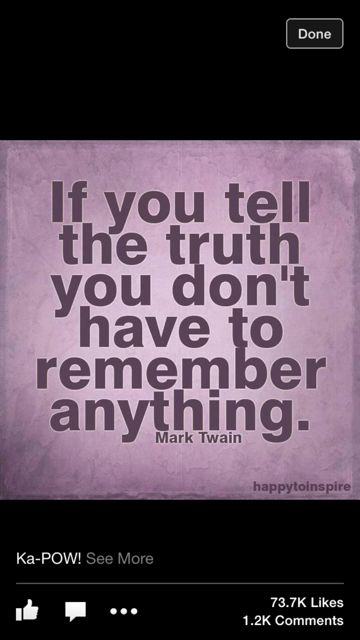 Mark Twin quote about honesty