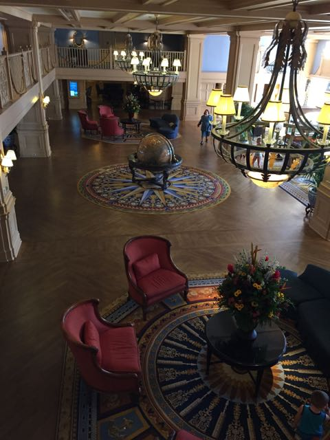 Disney's Yacht Club Resort lobby