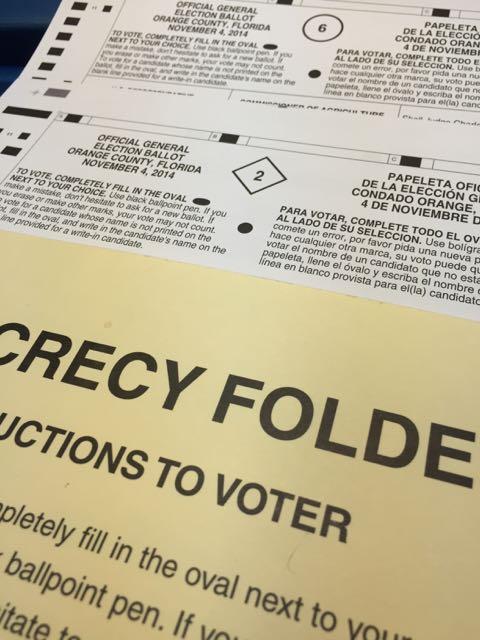 Voting in November 2014