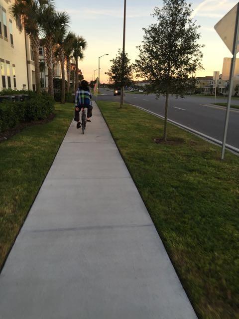 Biking near Walt Disney World