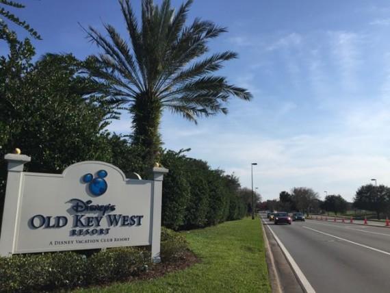 Disney's old Key West entrance sign