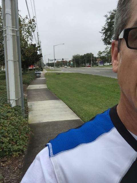 Running near Orlando homeless