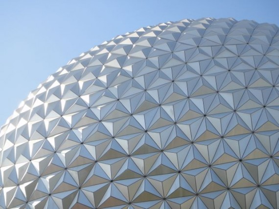 Disney Epcot Spaceship Earth