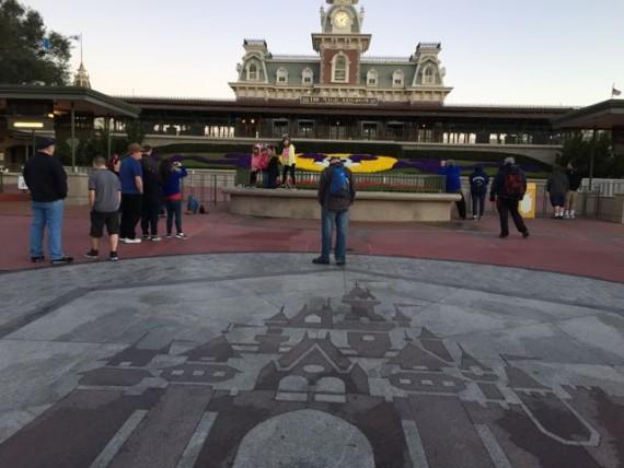 Magic Kingdom early arrival