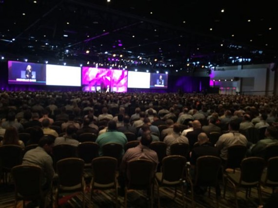 Massive 3,000 person conference kickoff
