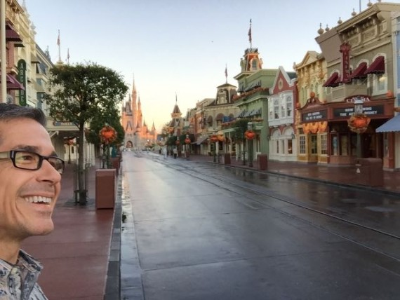 Magic Kingdom tour before Park opening
