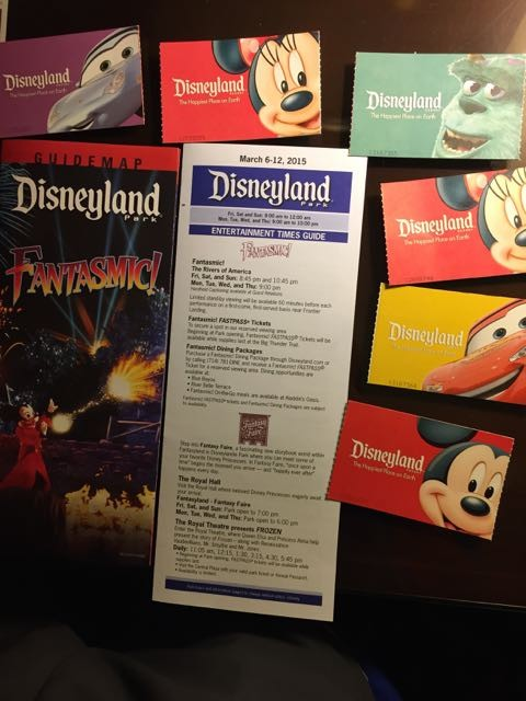 Disneyland Passes collection