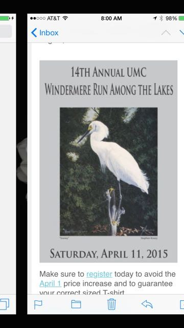 Windermere Run Among the Lakes 2015