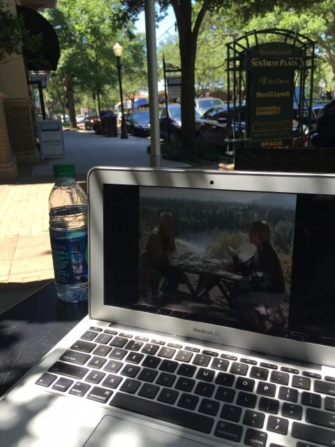 Yesterday at Winter Park, Florida Park Avenue Starbucks
