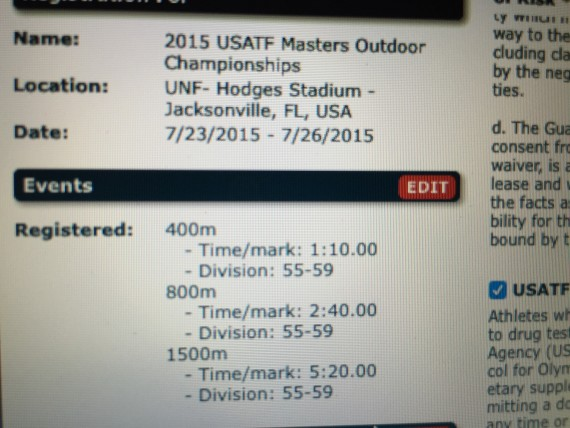 2015 USATF Masters T&F National Championships registration