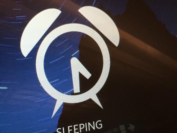 Alarm clock image screen shot