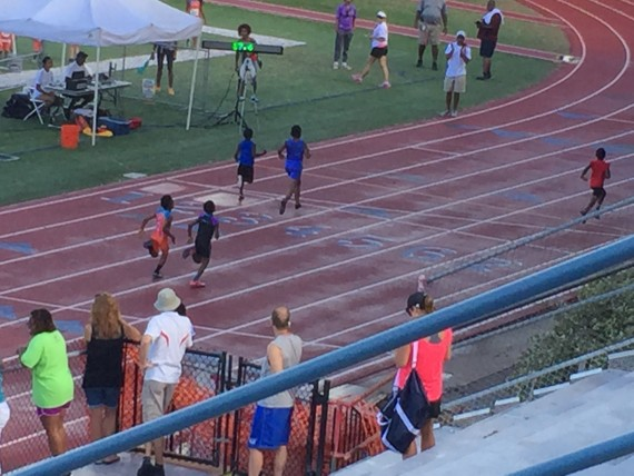 Central Florida Gliders Track Meet 2015