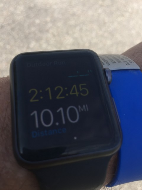 Apple Watch screen shot