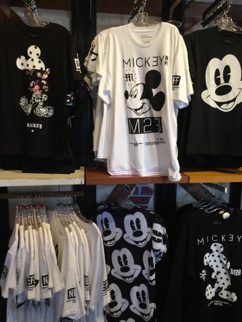 Mickey Mouse tee-shirts at Downtown Disney