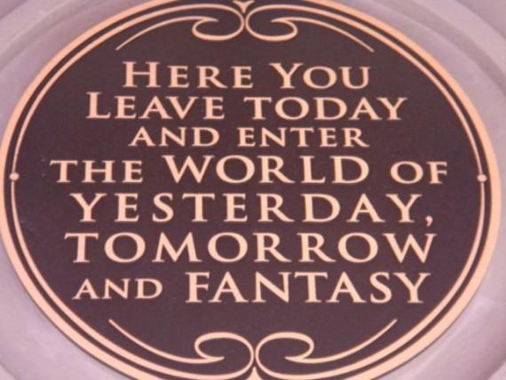Walt Disney quote about Disney World