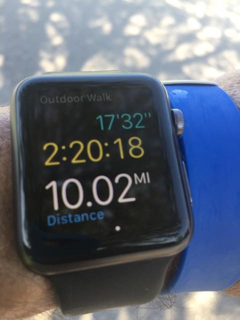 Apple Watch running app