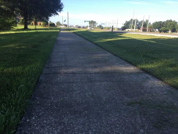 Sidewalks near Disney World
