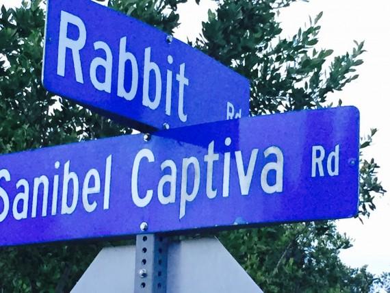 Sanibel Island Road sign