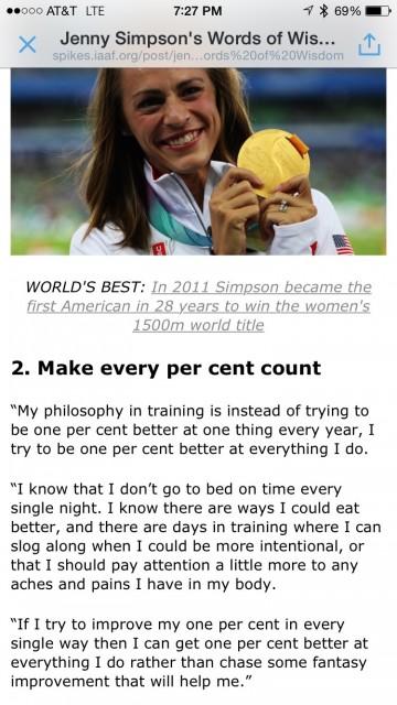 Jenny Simpson wisdom