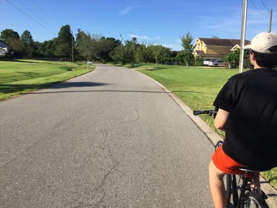 Bicycling near Walt Disney World