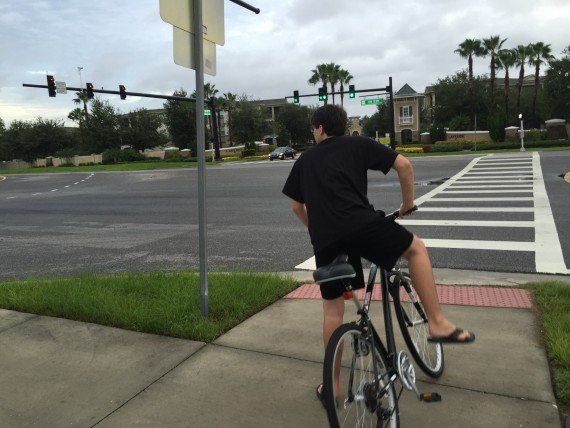 Bicycling near Walt Disney World