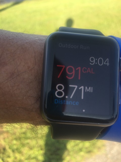 Apple Watch exercise app