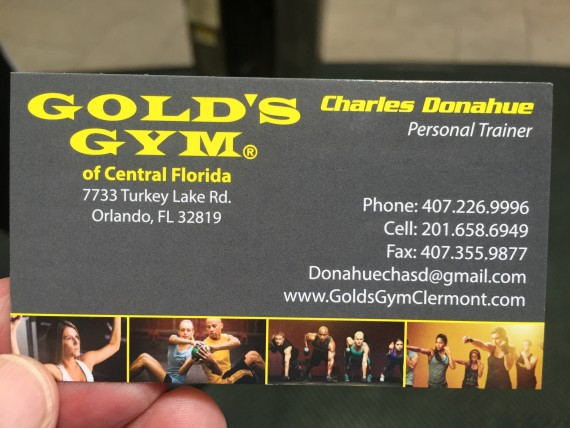 Golds Gym Personal Trainers Orlando