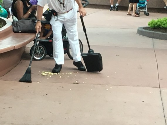 Disney Custodial Cast Member