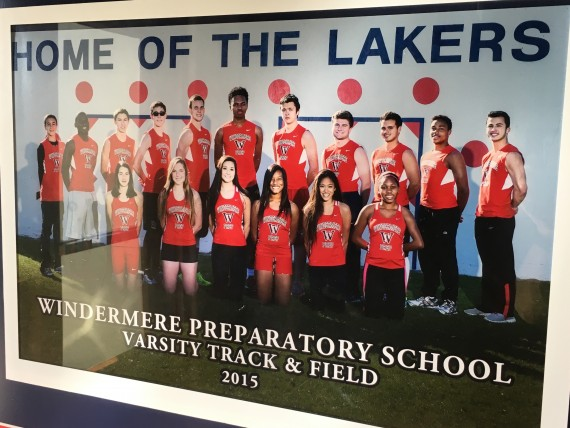 Windermere Prep 2015 Track & Field High School team