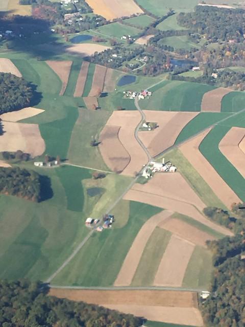 Pennsylvania Ariel landscape